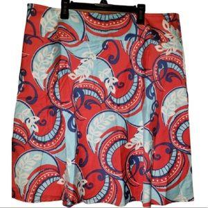 5/$20 Caslon 16 Multicolored Skirt Women Paisley